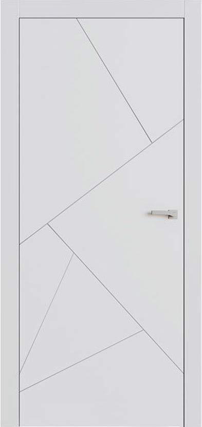 Купить двери Lines F9 белого цвета от Omega | Дверной Олимп